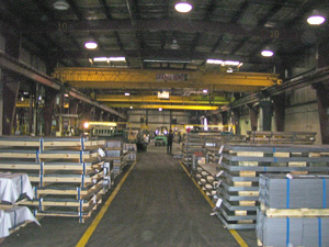 70,000 Square Floor Warehouse - Shear Tech Steel