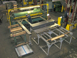 Shearing Capabilities to 3/8 - Shear Tech Steel